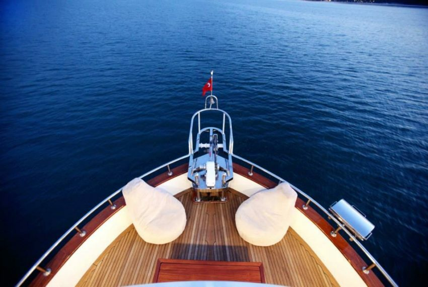 Private Yacht Charter in Turkey With Ece Junior Trawler Motor Yacht
