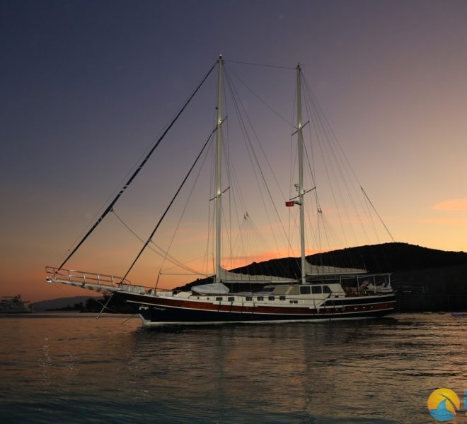 Gulet Kanaryam Luxury Yacht - Yacht Charter Turkey