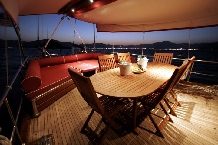 Laila Deniz Yacht Charter Marmaris Turkey - 4 Cabins with Air Condition