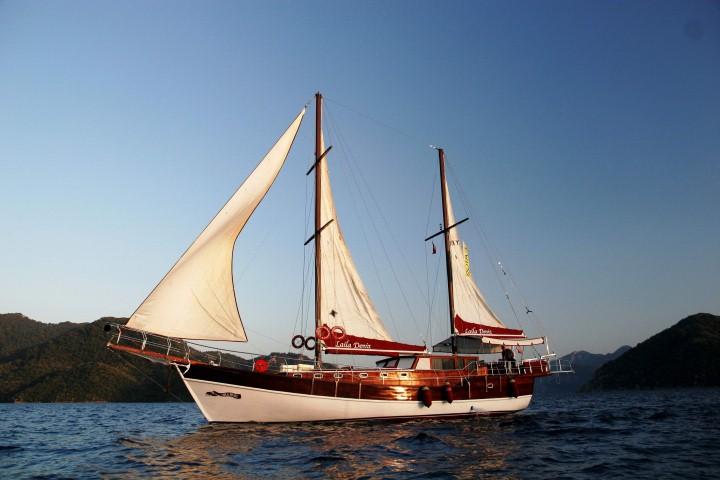 Laila Deniz Yacht Charter Marmaris Turkey - 4 Cabins with Air Condition