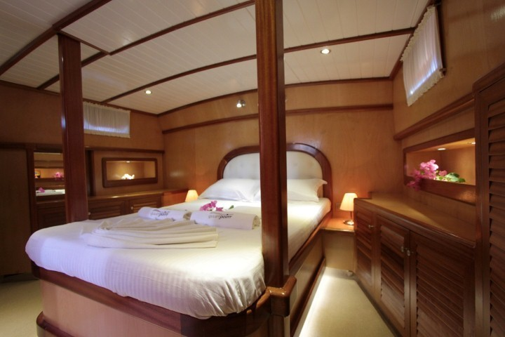 Dora Deniz Gulet Yacht Charter Marmaris. 3 Cabins 6 Passenger Air Condition