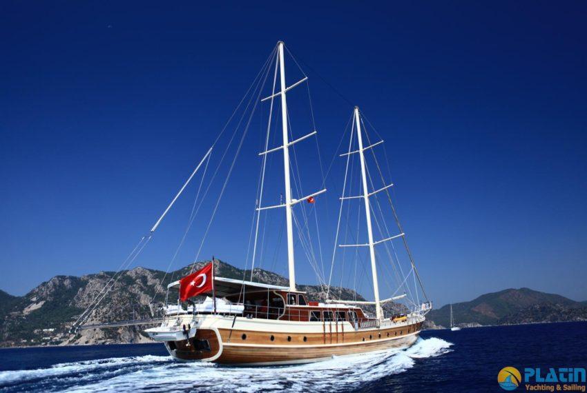 Junior Orcun Gulet Yacht Charter 8 Cabins AC 32 M Yacht Charter Turkey
