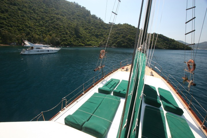 Dora Deniz Gulet Yacht Charter Marmaris. 3 Cabins 6 Passenger Air Condition