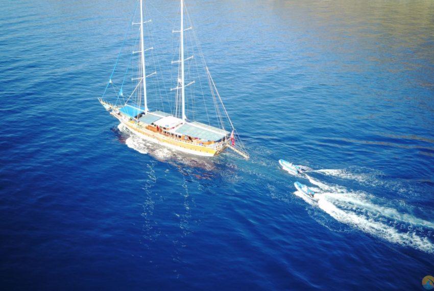 Tarkan 5 gulet Tekne Yat - Mavi Yolculuk Tur Kiralik 44