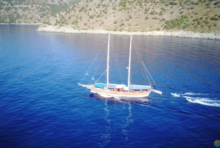 Tarkan 5 gulet Tekne Yat - Mavi Yolculuk Tur Kiralik 48