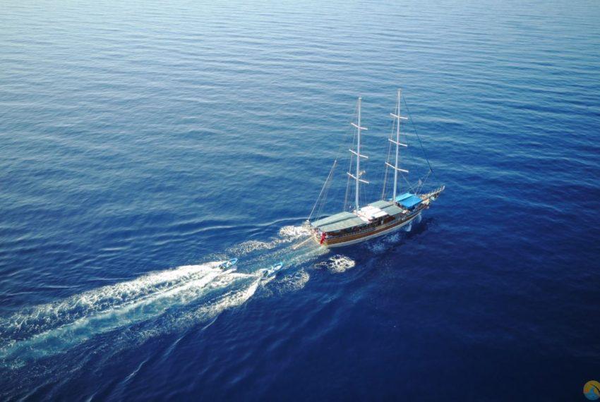 Tarkan 5 gulet Tekne Yat - Mavi Yolculuk Tur Kiralik 50