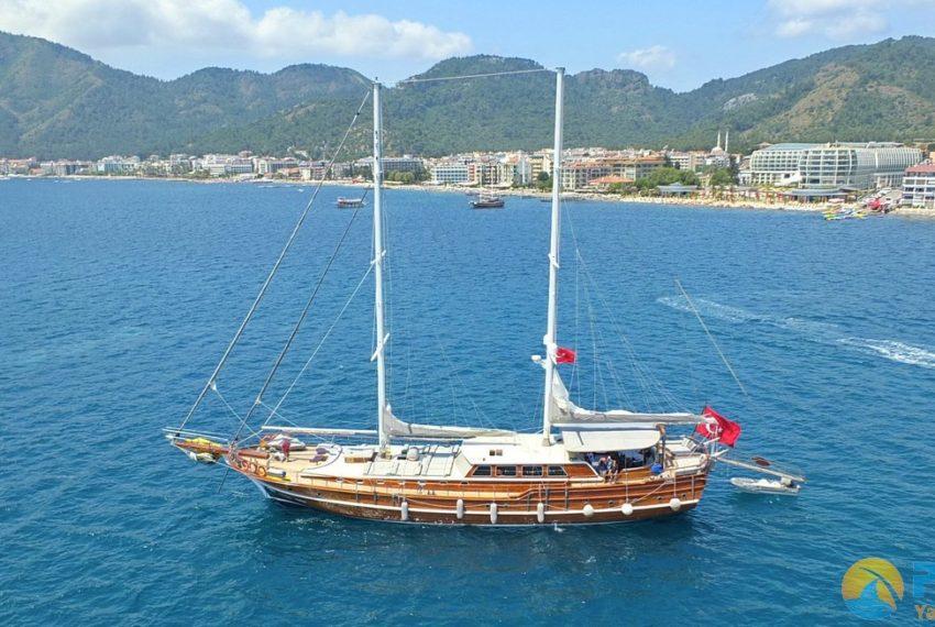 Yacht Kaptan Mehmet Bugra 8 Cabins 34 Meters Yacht Charter Turkey