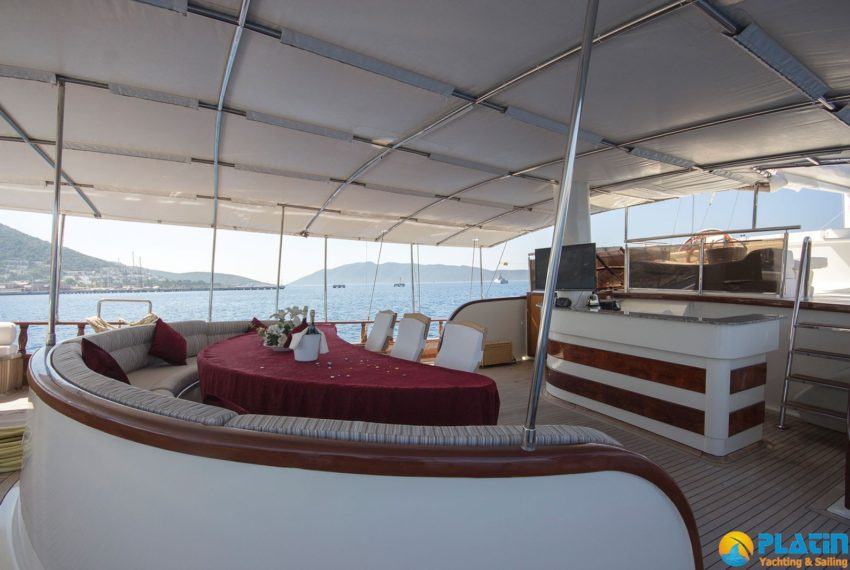 Berrak Su Gulet Yach Charter in Bodrum Marmaris Turkey Greece Island