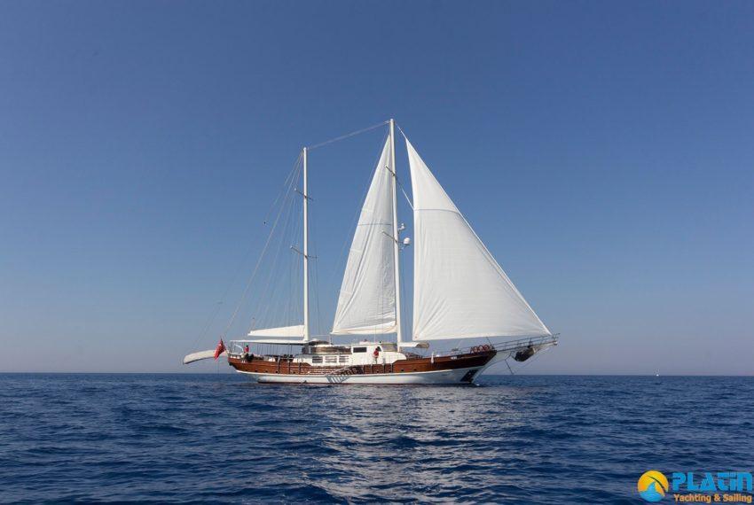Berrak Su Gulet Yach Charter in Bodrum Marmaris Turkey Greece Island