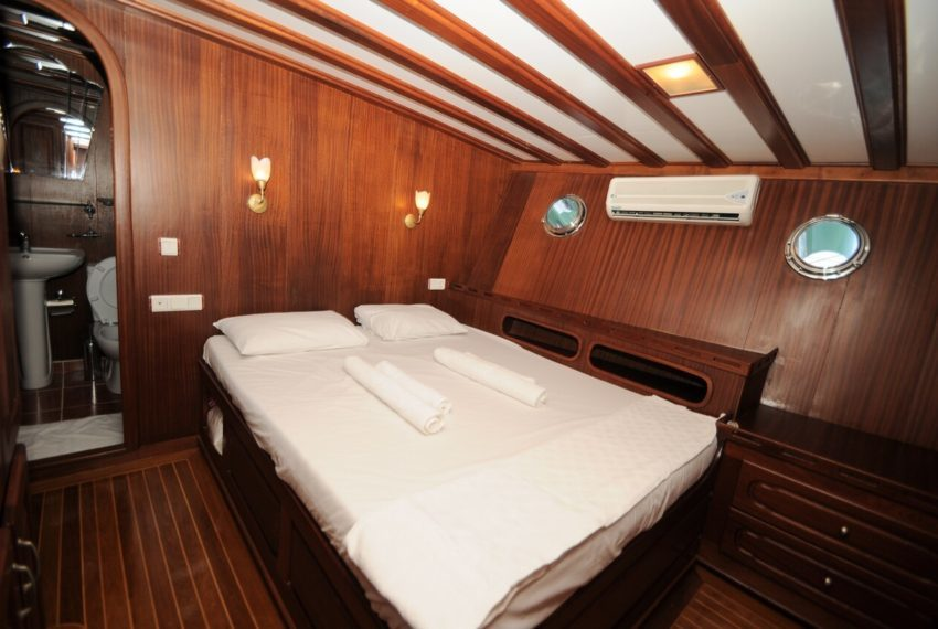 Crewed Yacht Charter with Prenses Selin Gulet Turkey