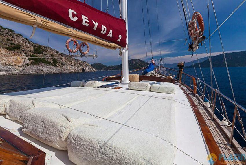 Ceyda 2 Rent Yacht Gulet Boat Charter Turkey 04