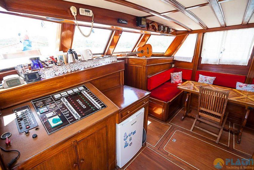 Ceyda 2 Rent Yacht Gulet Boat Charter Turkey 11