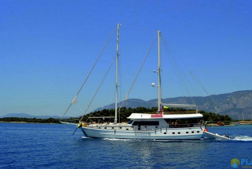 Gul sultan Rent Yacht Gulet Boat Charter Turkey 11