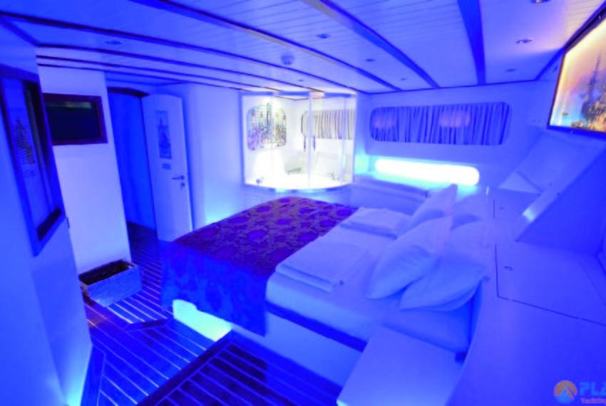 Gul sultan Rent Yacht Gulet Boat Charter Turkey 16