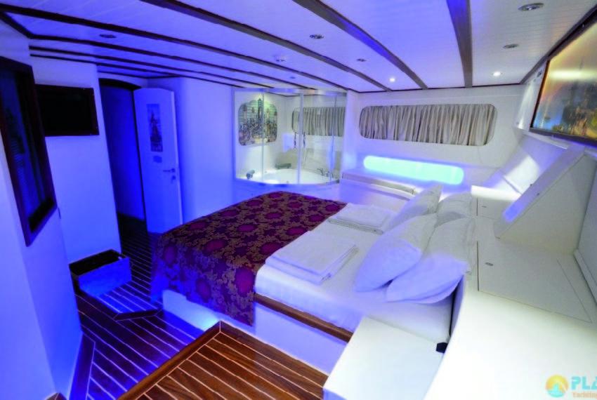 Gul sultan Rent Yacht Gulet Boat Charter Turkey 18