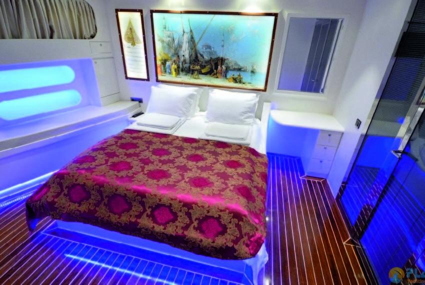 Gul sultan Rent Yacht Gulet Boat Charter Turkey 21