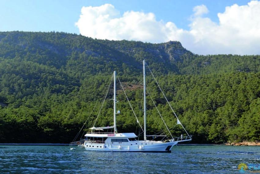 Gul sultan Rent Yacht Gulet Boat Charter Turkey 23