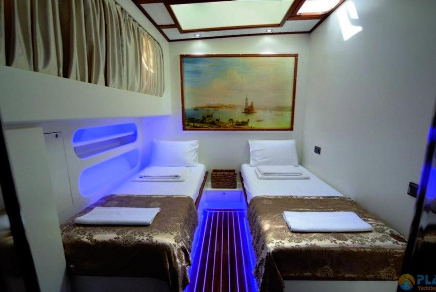 Gul sultan Rent Yacht Gulet Boat Charter Turkey 25