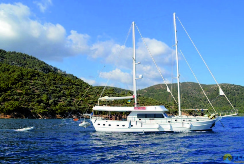 Gul sultan Rent Yacht Gulet Boat Charter Turkey 30