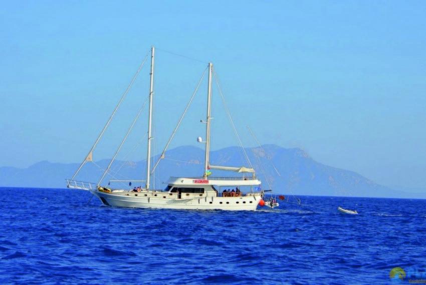 Gul sultan Rent Yacht Gulet Boat Charter Turkey 31