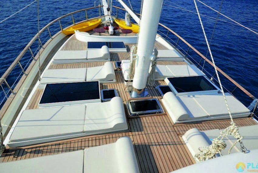 Gul sultan Rent Yacht Gulet Boat Charter Turkey 35