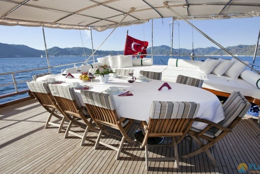S.Dogu Rent Yacht Gulet Boat Charter Turkey 12