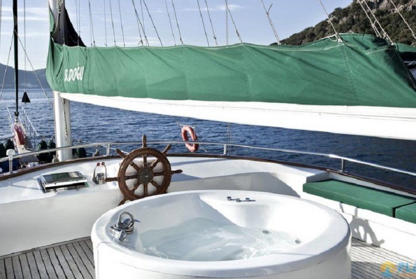 S.Dogu Rent Yacht Gulet Boat Charter Turkey 15