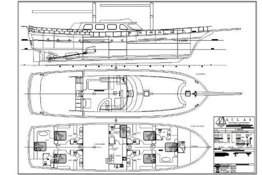 S.Dogu Rent Yacht Gulet Boat Charter Turkey 24