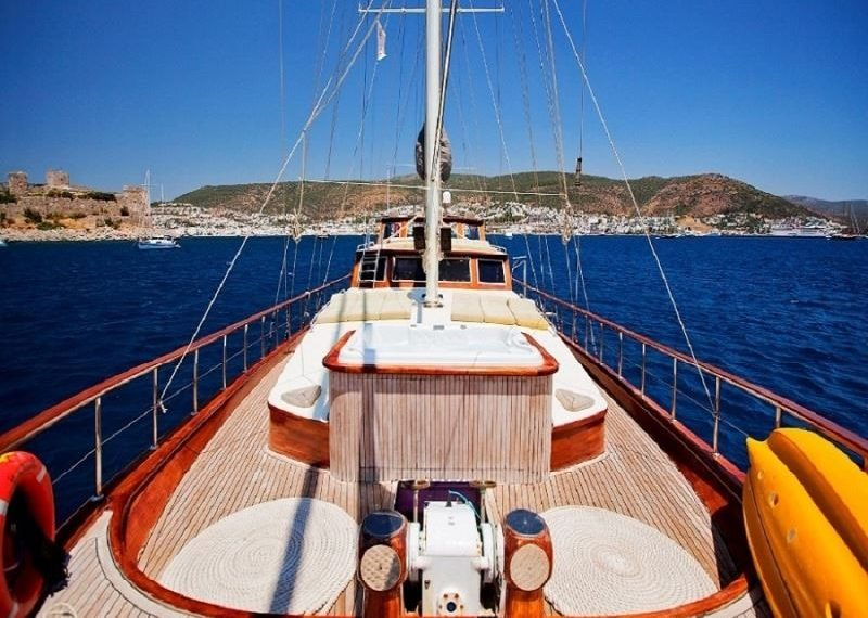 S.Dogu Rent Yacht Gulet Boat Charter Turkey 4