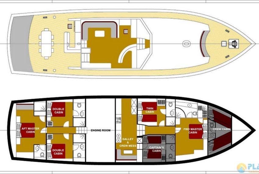 Schatz Rent Yacht Gulet Boat Charter Turkey 21