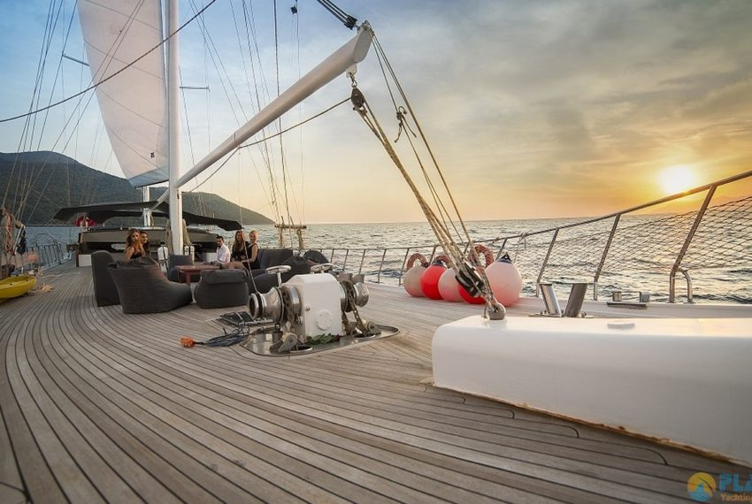 Seyhan Hanna Rent Yacht Gulet Boat Charter Turkey 04