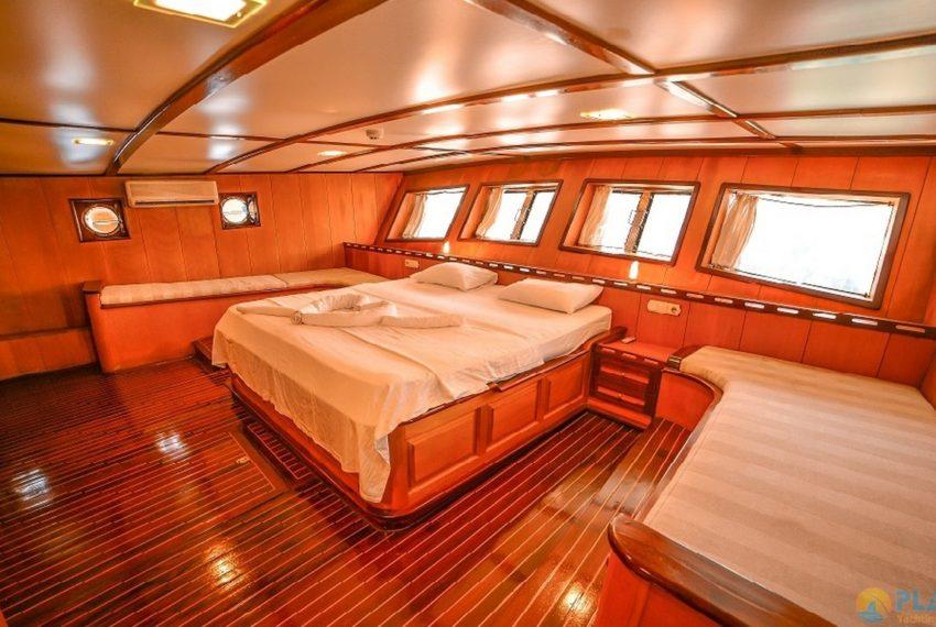 Seyhan Hanna Rent Yacht Gulet Boat Charter Turkey 14