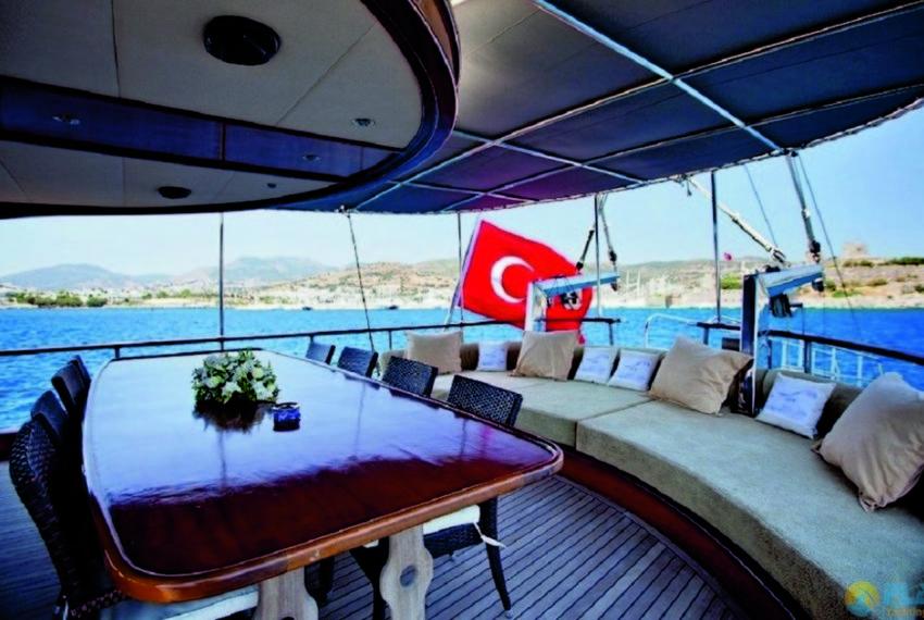 ilknur sultan Rent Yacht Gulet Boat Charter Turkey 03