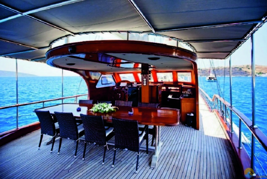 ilknur sultan Rent Yacht Gulet Boat Charter Turkey 13