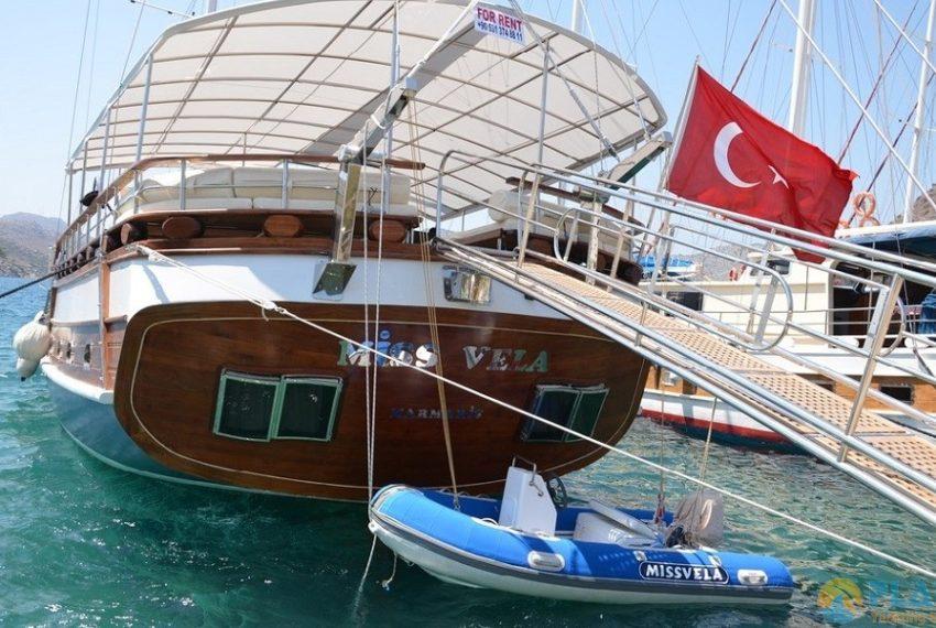 Miss Vela Yacht Gulet - Yacht Charter Marmaris Turkey Platin Yachting 02