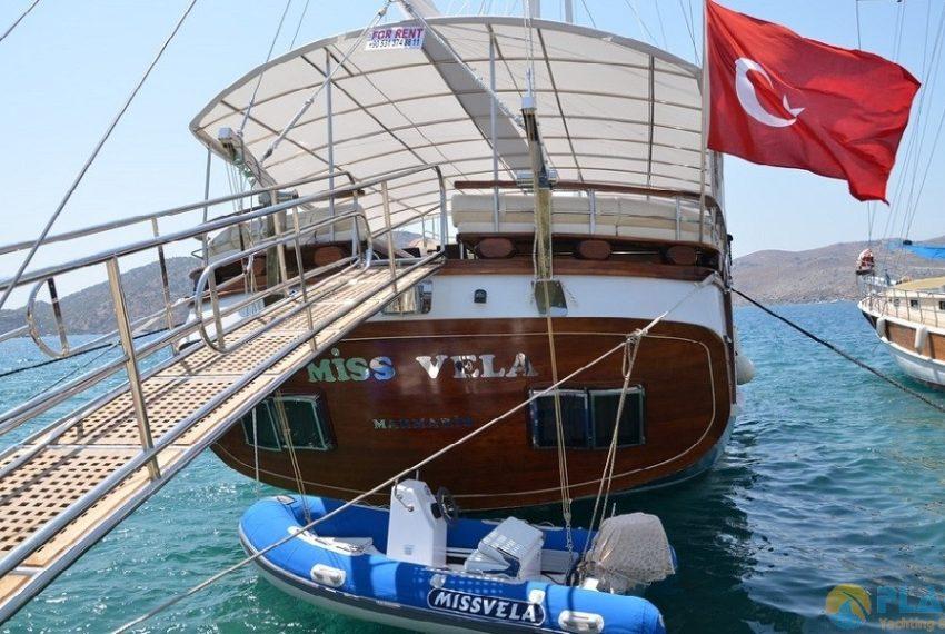Miss Vela Yacht Gulet - Yacht Charter Marmaris Turkey Platin Yachting 03