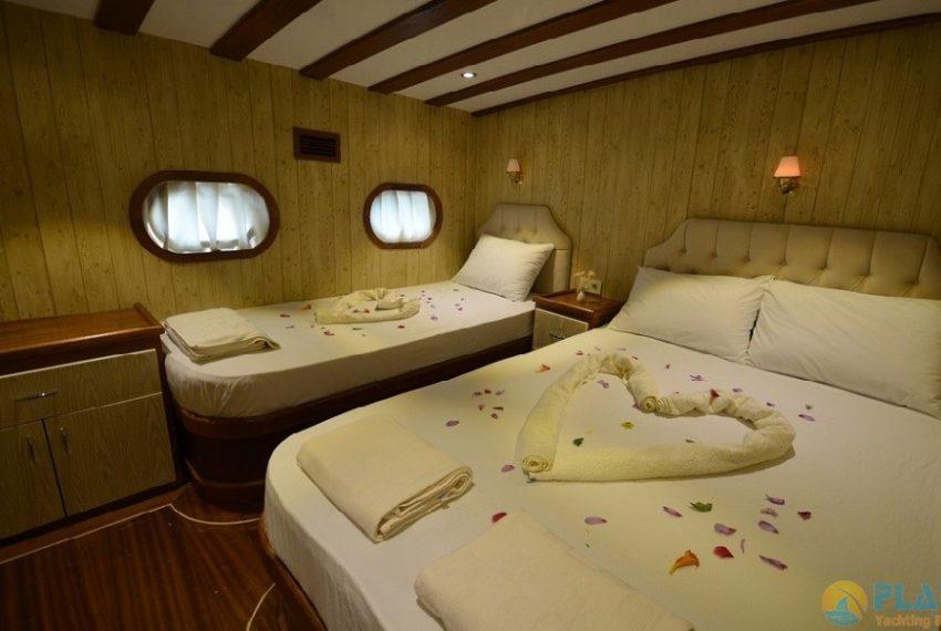 Miss Vela Yacht Gulet - Yacht Charter Marmaris Turkey Platin Yachting 19