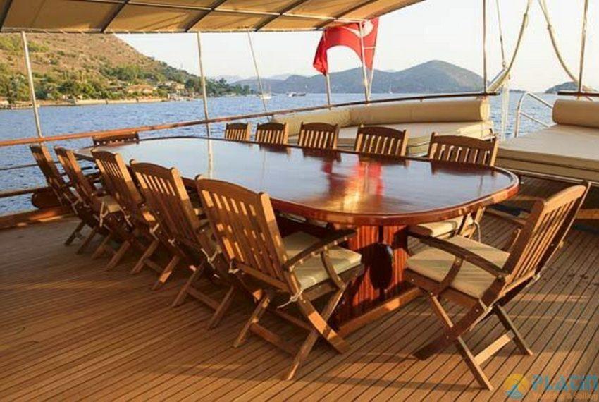 Ufuk ELa Yacht Gulet Charter in Marmaris 07