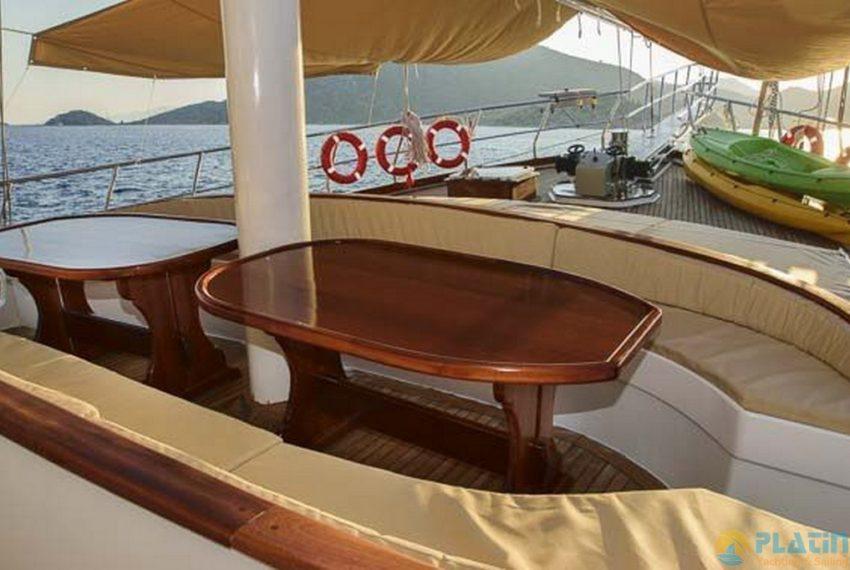 Ufuk ELa Yacht Gulet Charter in Marmaris 14