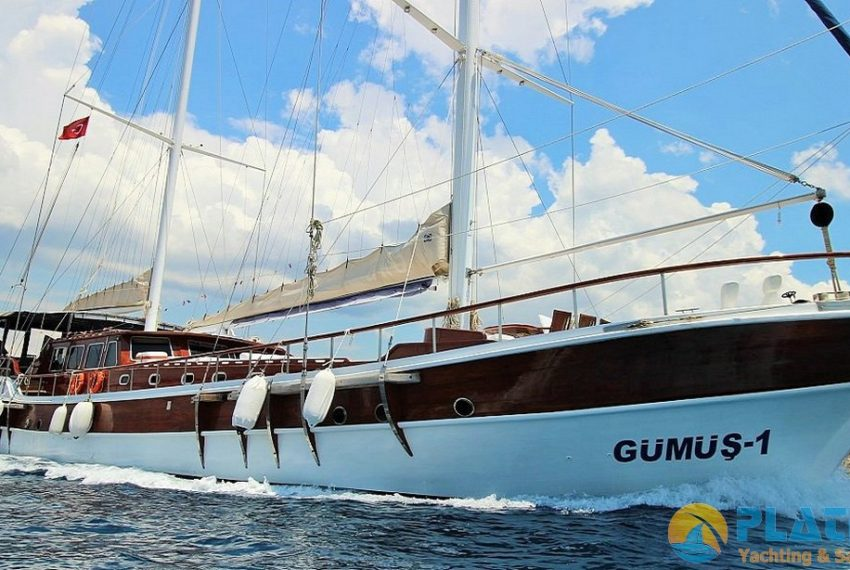 Gumus 1 Gulet Yacht for Rent in Turkey Greece Platin Yachting 24