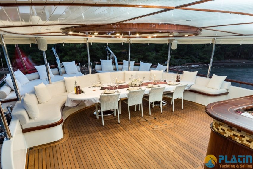 Halcon Del Mar Yacht Charter Turkey Greece Platin Yachting 29