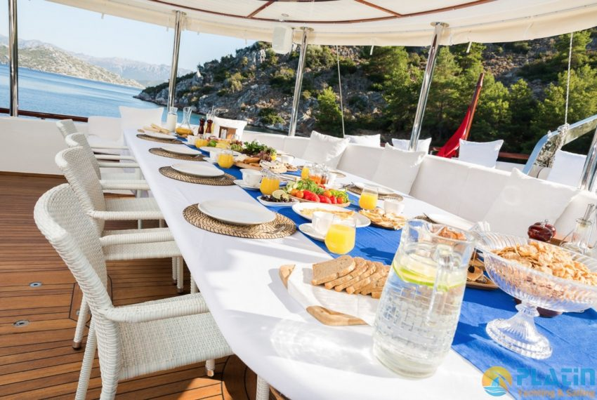 Halcon Del Mar Yacht Charter Turkey Greece Platin Yachting 32