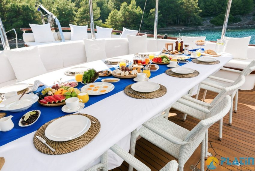Halcon Del Mar Yacht Charter Turkey Greece Platin Yachting 33