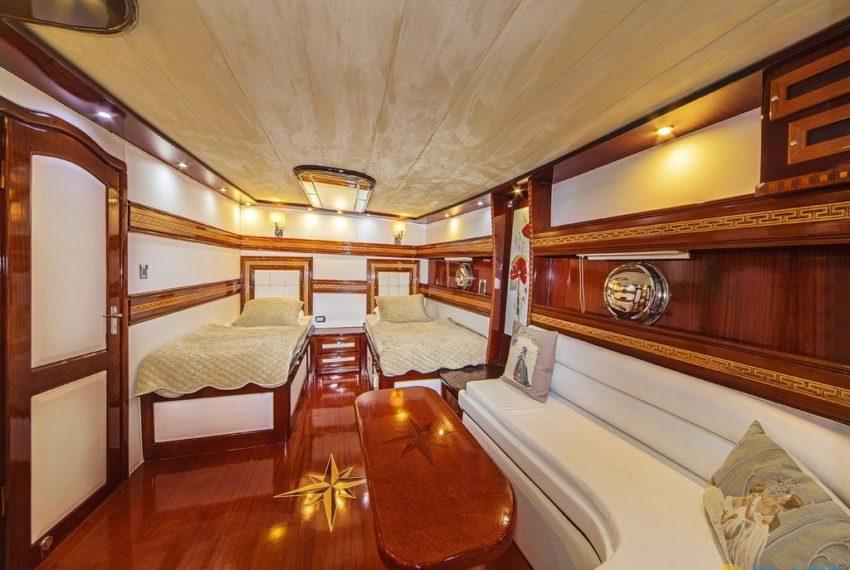 Perla Del Mare 2 Gulet Yacht Charter Turkey latin Yachting 09