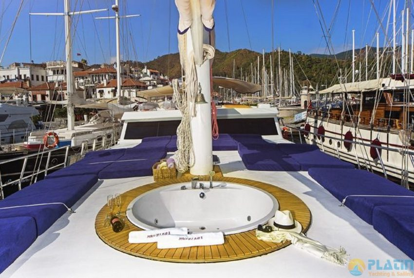 Perla Del Mare 2 Gulet Yacht Charter Turkey latin Yachting 35