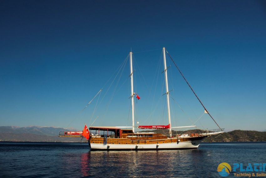 Sea Angel Yacht Gulet Charter Turkey Platin Yaching 01