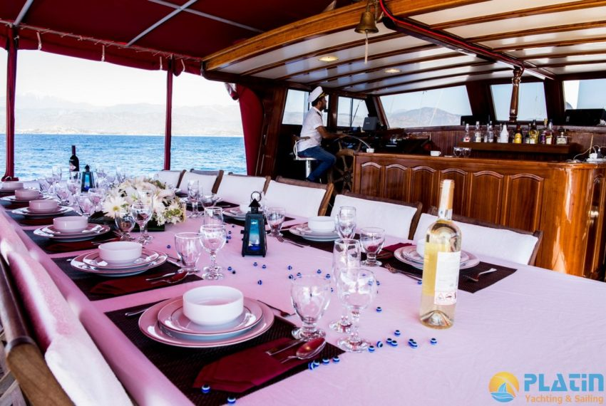 Sea Angel Yacht Gulet Charter Turkey Platin Yaching 03