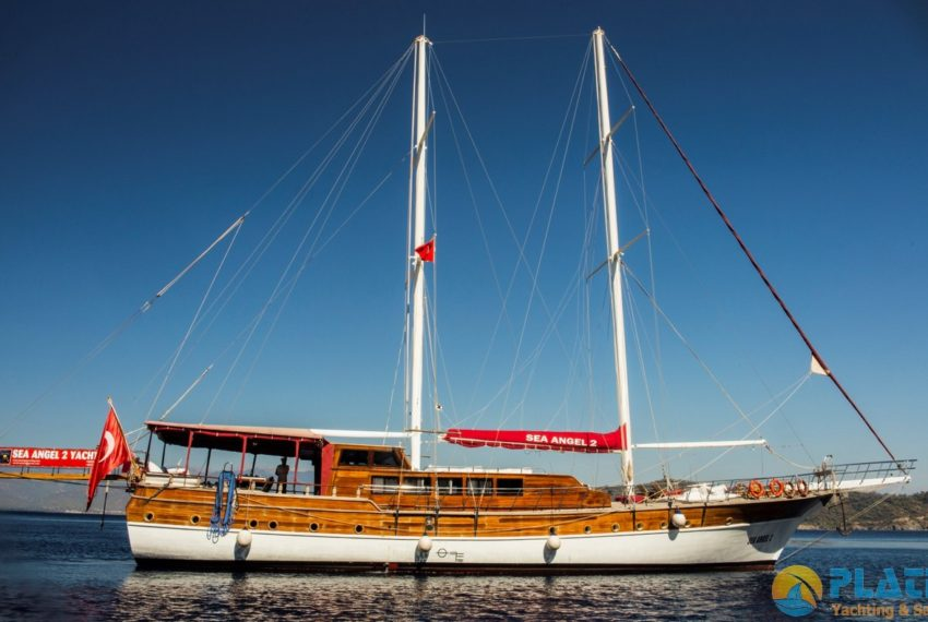 Sea Angel Yacht Gulet Charter Turkey Platin Yaching 13