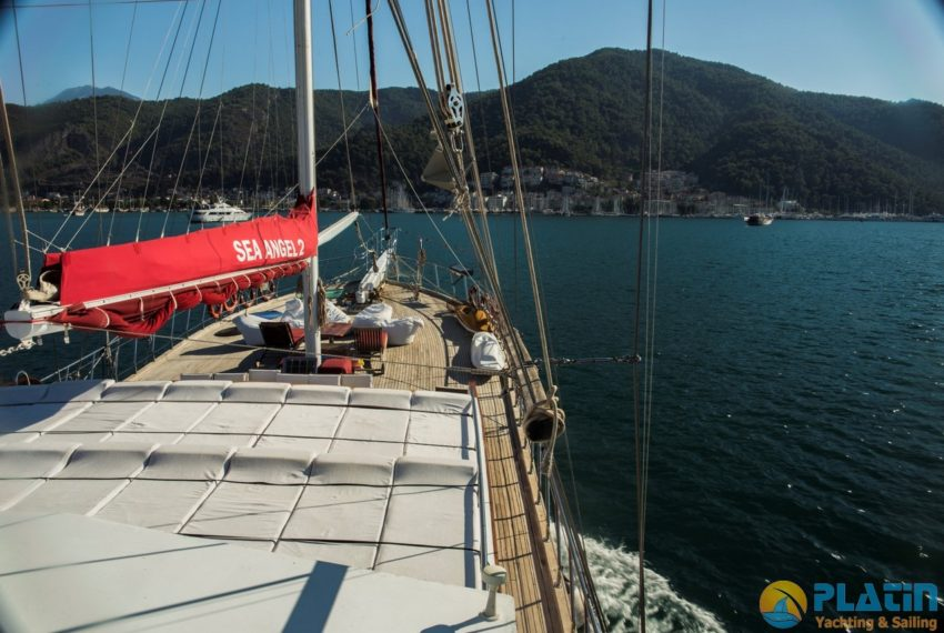 Sea Angel Yacht Gulet Charter Turkey Platin Yaching 21