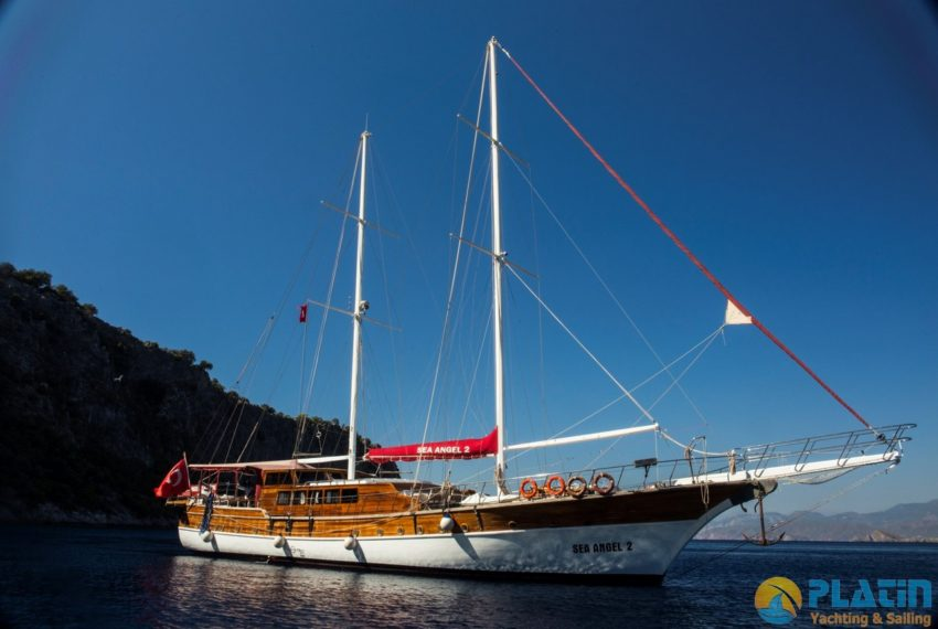 Sea Angel Yacht Gulet Charter Turkey Platin Yaching